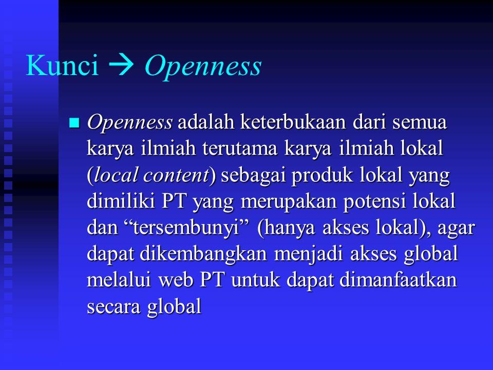 Kunci  Openness