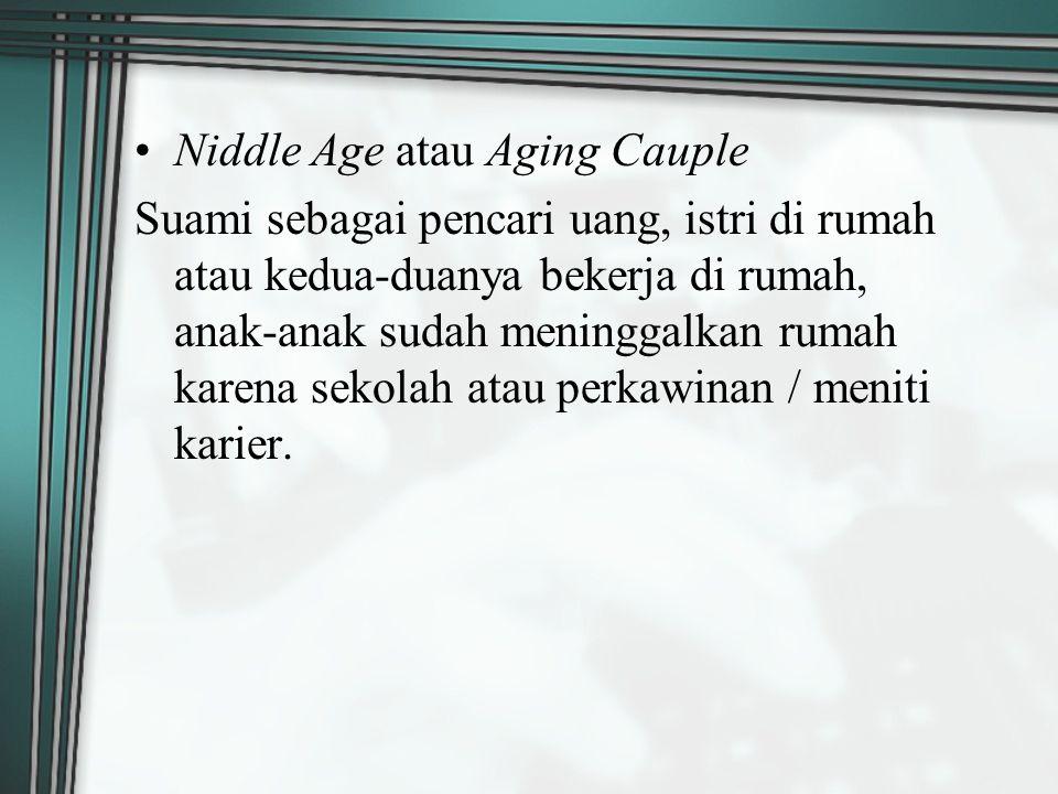 Niddle Age atau Aging Cauple