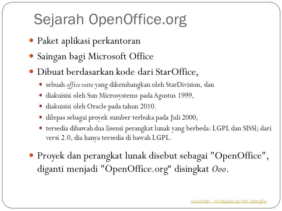 Sejarah OpenOffice.org