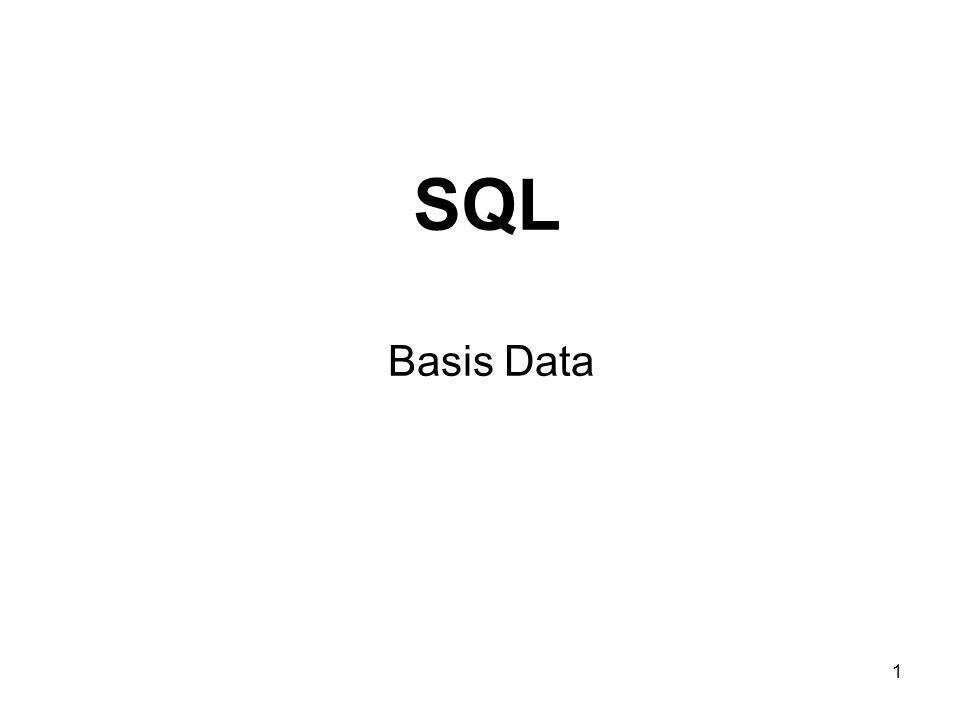 SQL Basis Data