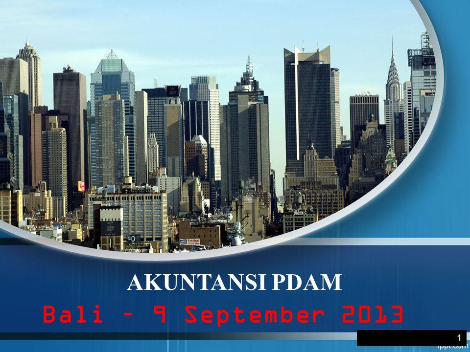 AKUNTANSI PDAM Bali – 9 September 2013