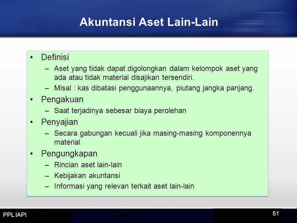 Akuntansi Aset Lain-Lain