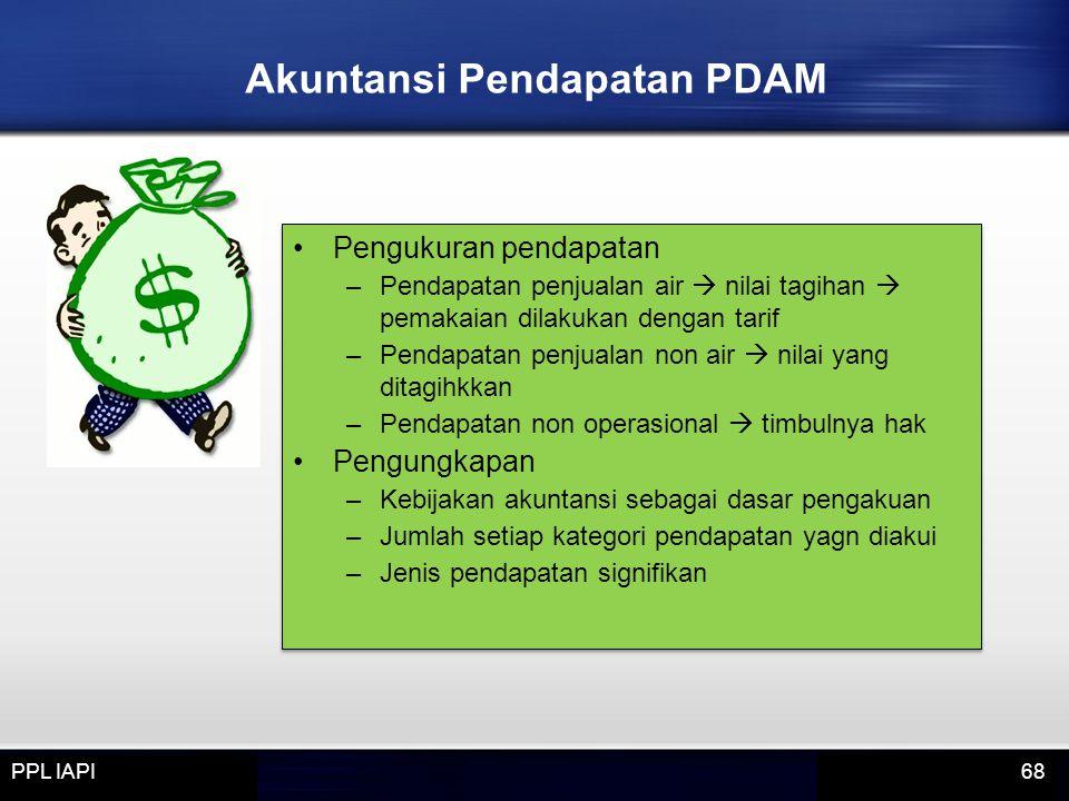 Akuntansi Pendapatan PDAM