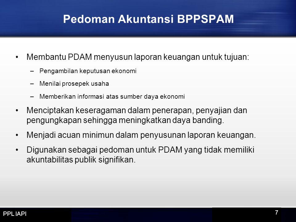 Pedoman Akuntansi BPPSPAM