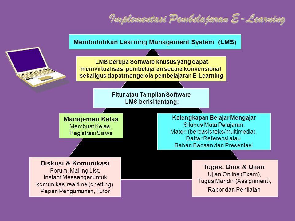 Implementasi Pembelajaran E-Learning