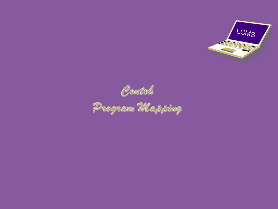 Contoh Program Mapping