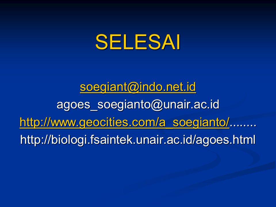 SELESAI soegiant@indo.net.id agoes_soegianto@unair.ac.id