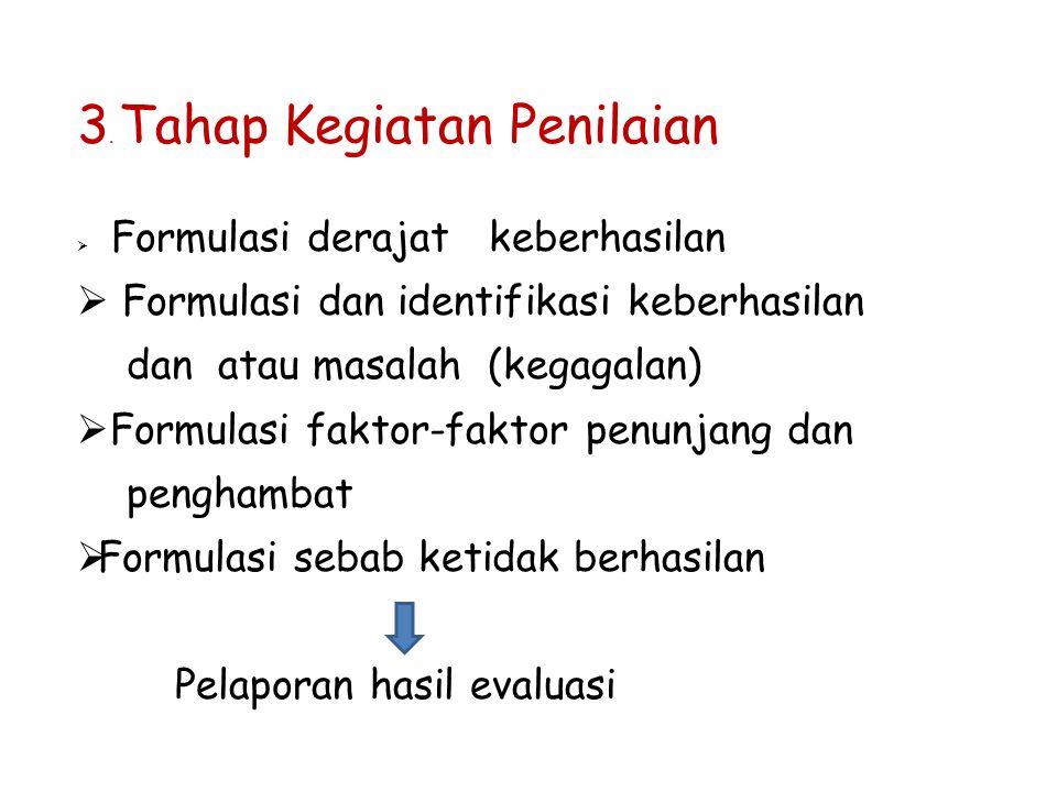 3. Tahap Kegiatan Penilaian