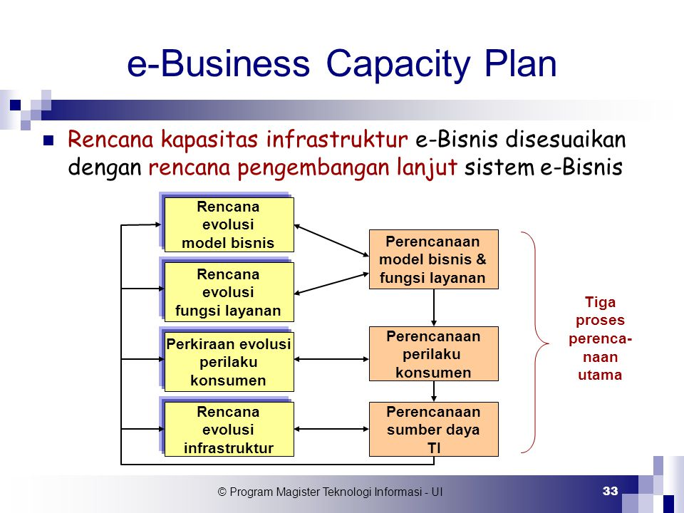 e-Business Capacity Plan