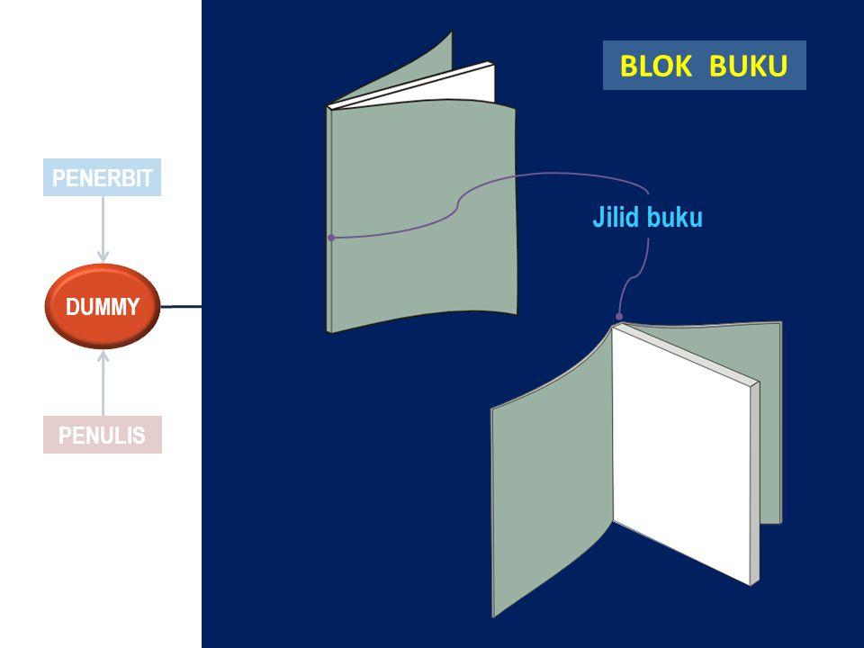 Jilid buku BLOK BUKU PENERBIT DUMMY PENULIS
