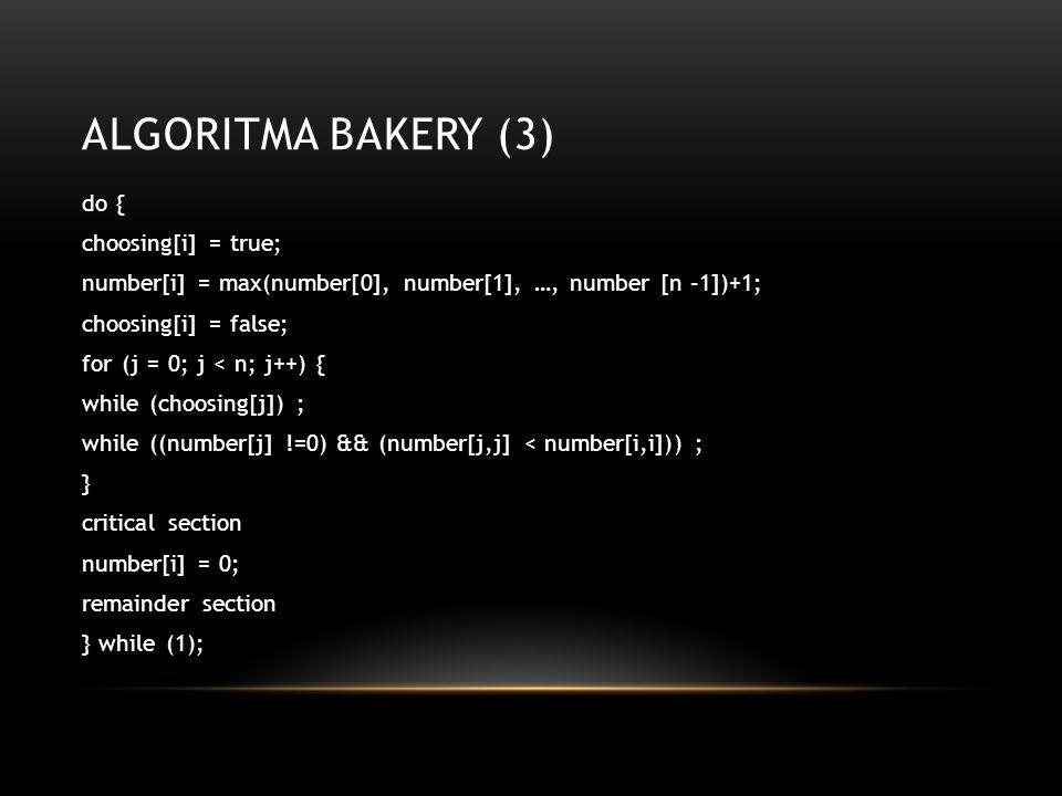 Algoritma Bakery (3)