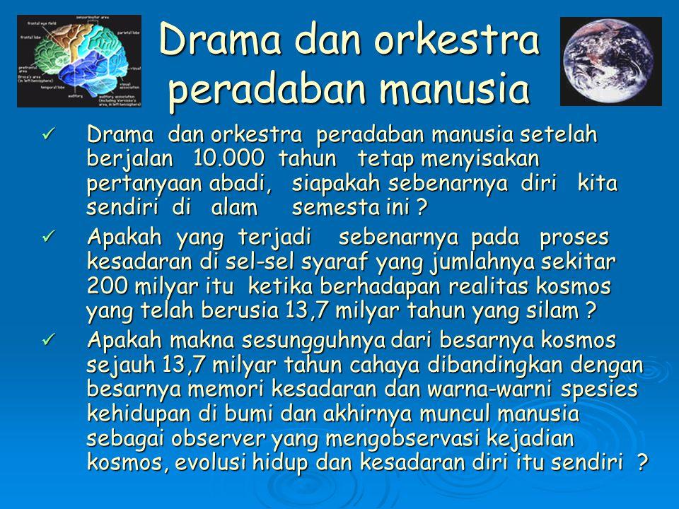 Drama dan orkestra peradaban manusia