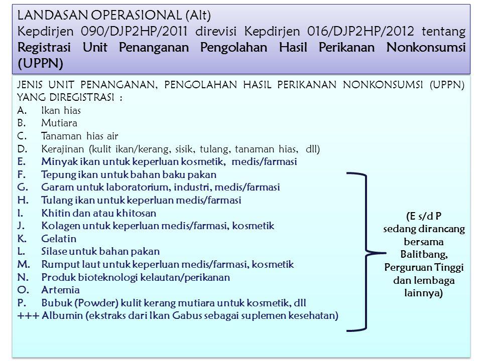 LANDASAN OPERASIONAL (Alt)