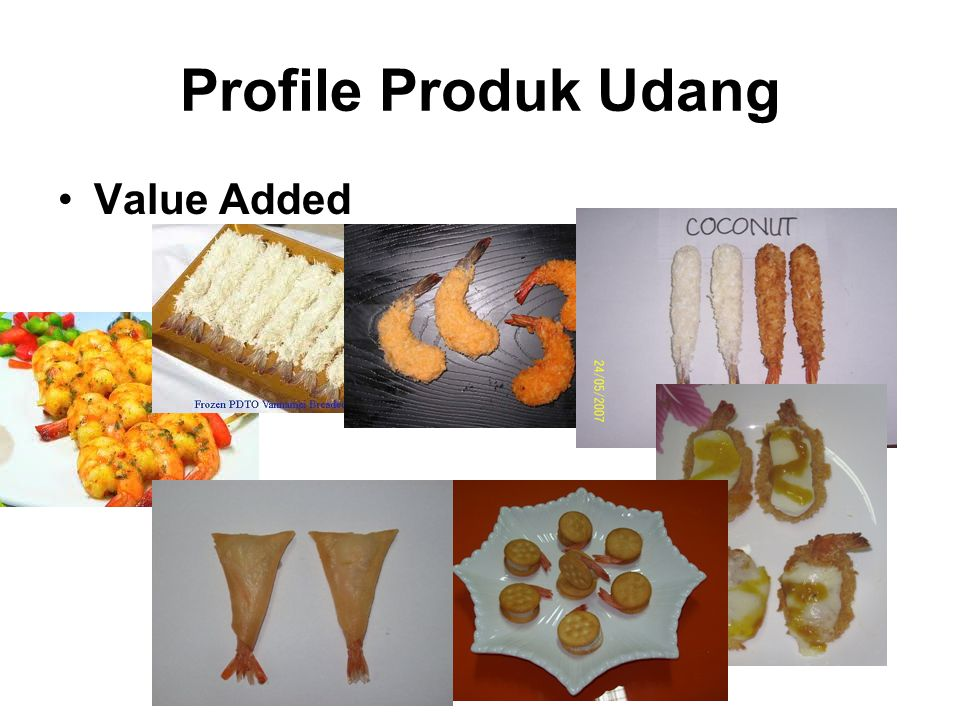 Profile Produk Udang Value Added