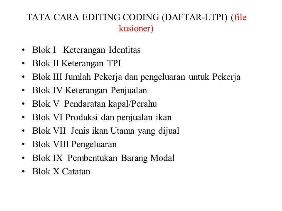 TATA CARA EDITING CODING (DAFTAR-LTPI) (file kusioner)