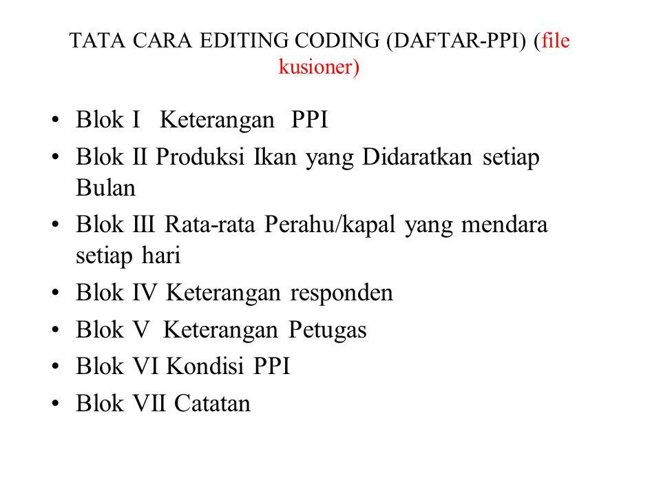 TATA CARA EDITING CODING (DAFTAR-PPI) (file kusioner)