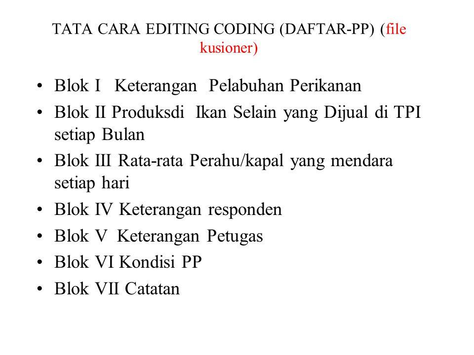 TATA CARA EDITING CODING (DAFTAR-PP) (file kusioner)