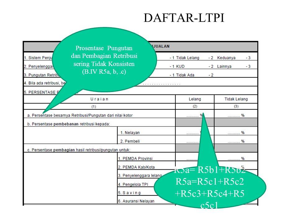 NIHIL DAFTAR-LTPI R5a= R5b1+R5b2 R5a=R5c1+R5c2+R5c3+R5c4+R5c5c1