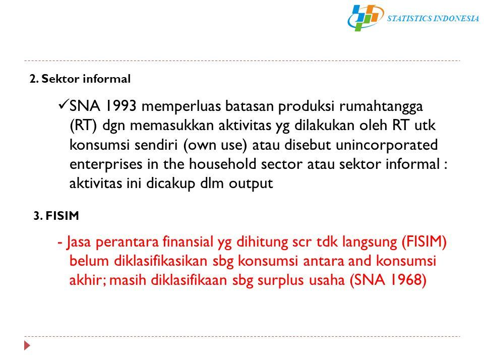 2. Sektor informal