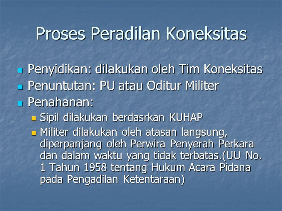 Proses Peradilan Koneksitas