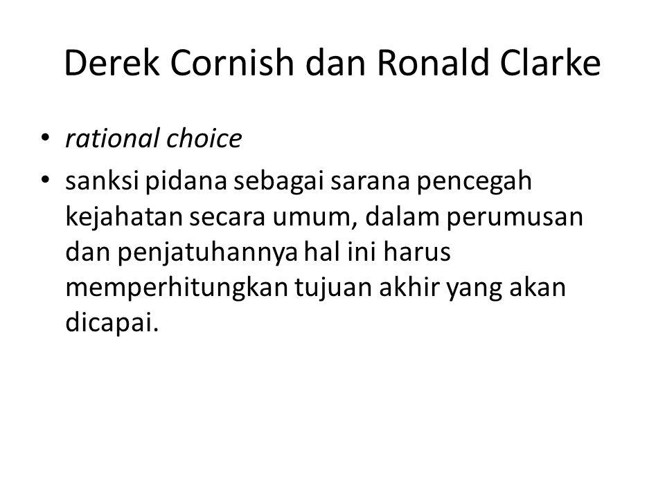 Derek Cornish dan Ronald Clarke