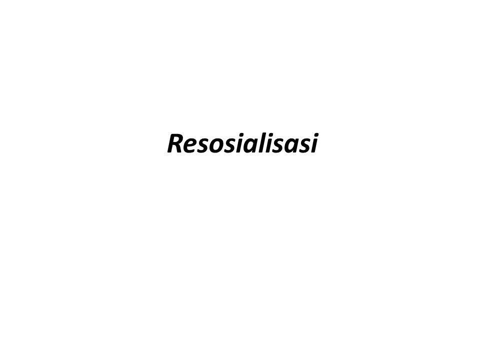 Resosialisasi