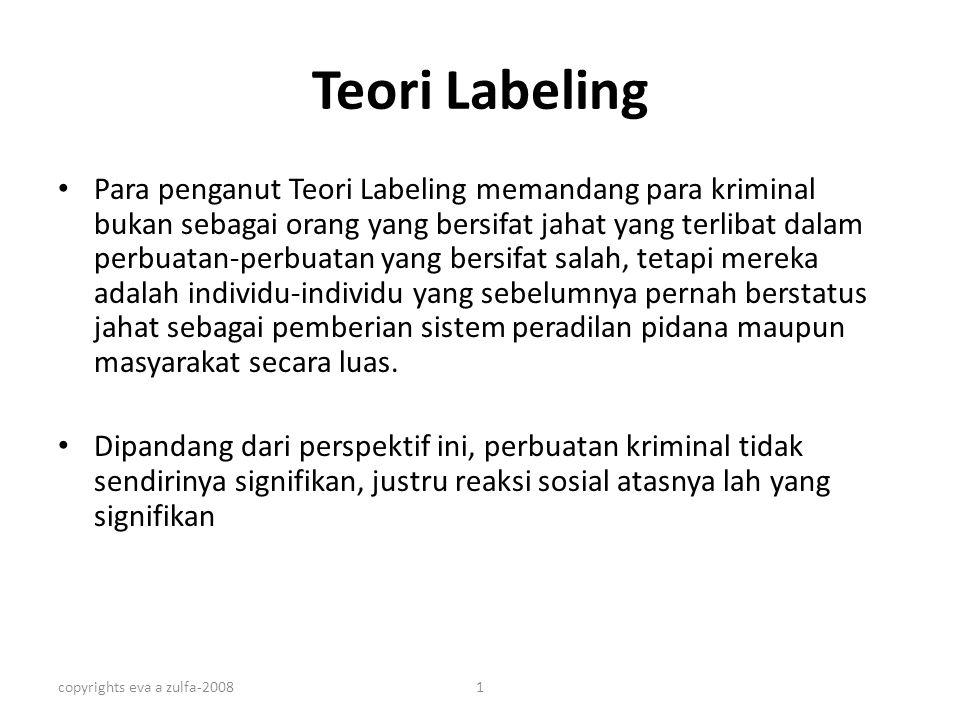 Teori Labeling