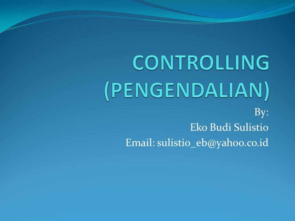CONTROLLING (PENGENDALIAN)