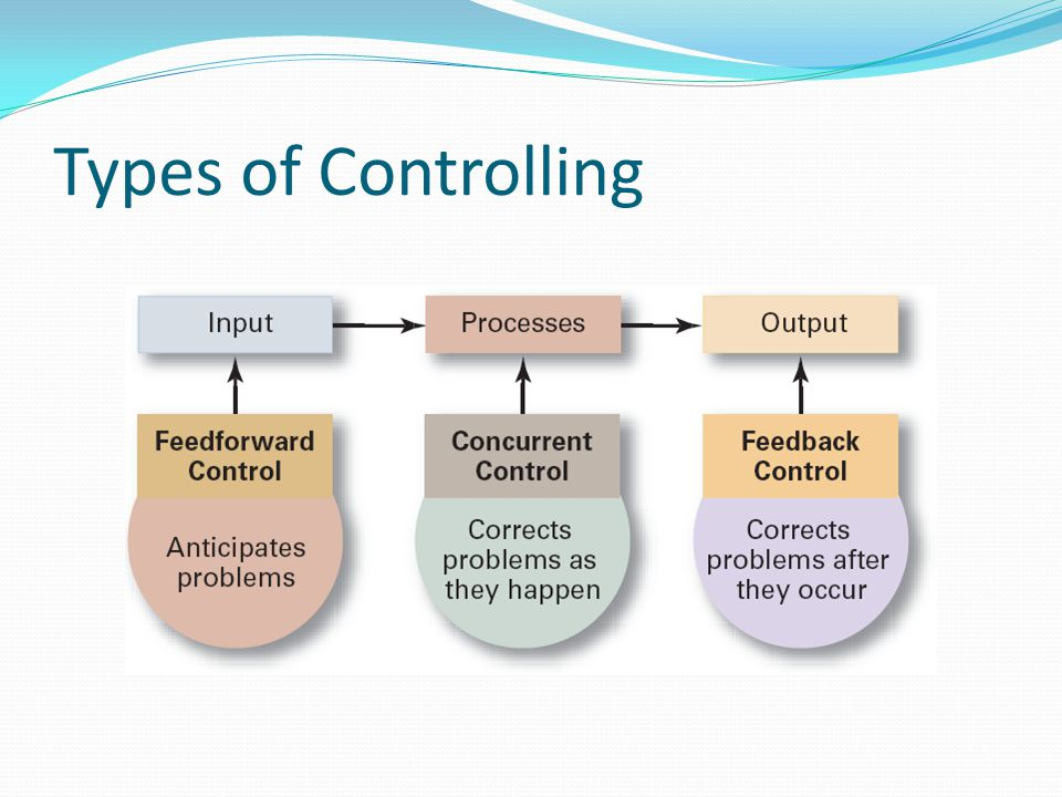 Types of Controlling