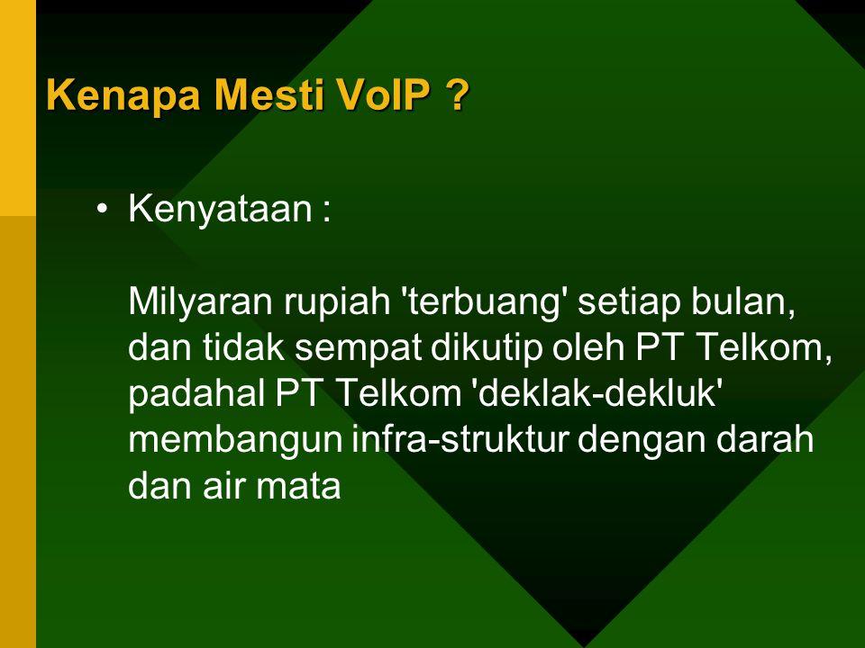 Kenapa Mesti VoIP
