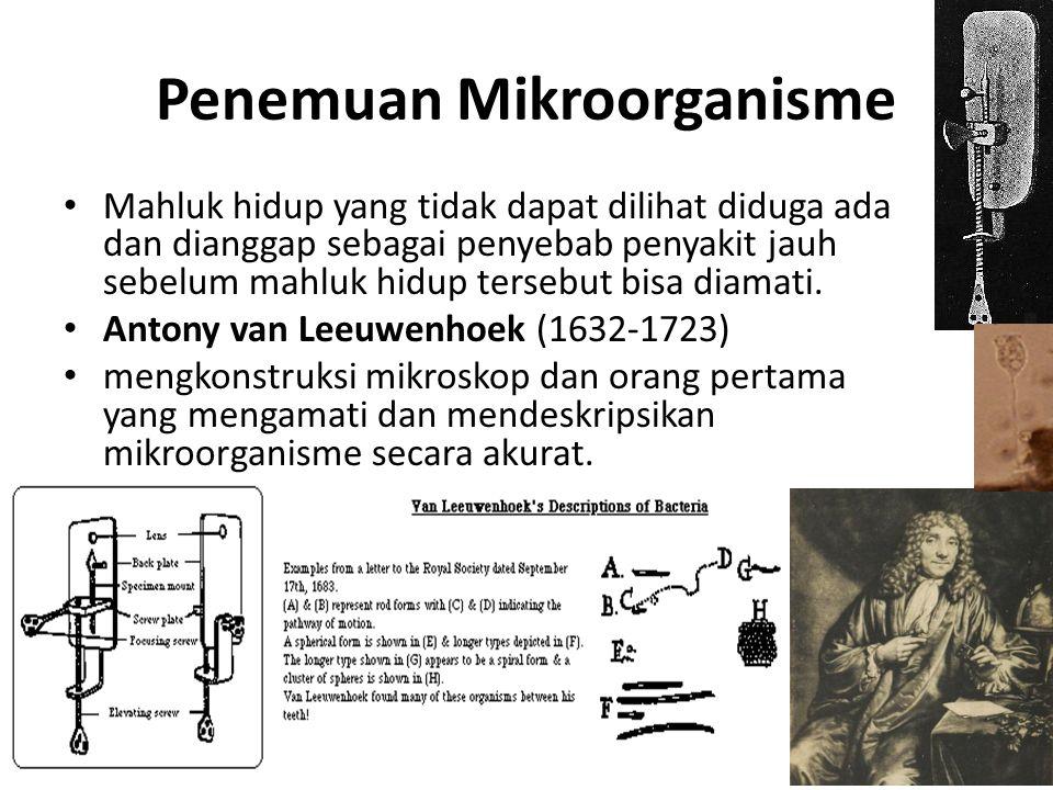 Penemuan Mikroorganisme