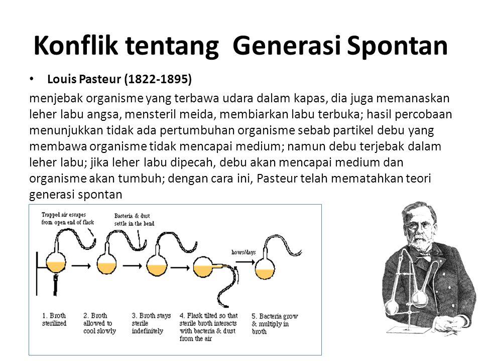 Konflik tentang Generasi Spontan