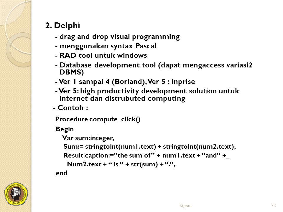 Procedure compute_click()