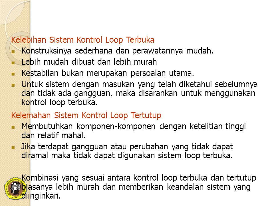 Kelebihan Sistem Kontrol Loop Terbuka