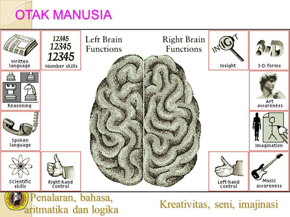 OTAK MANUSIA Penalaran, bahasa, aritmatika dan logika
