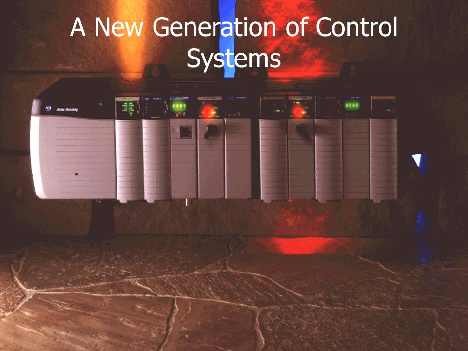A New Generation of Control Systems