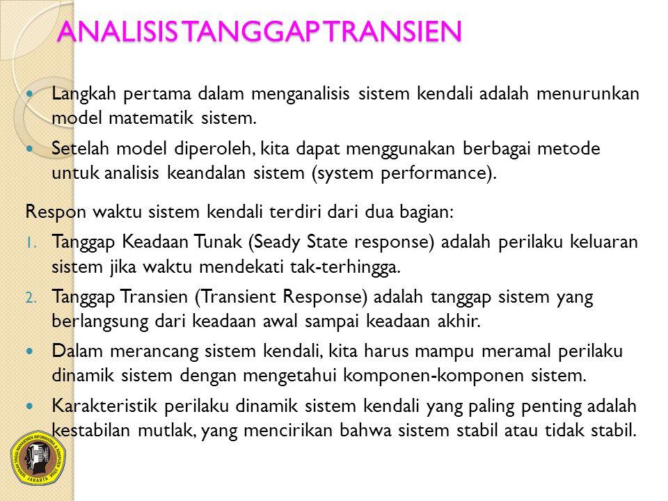 ANALISIS TANGGAP TRANSIEN