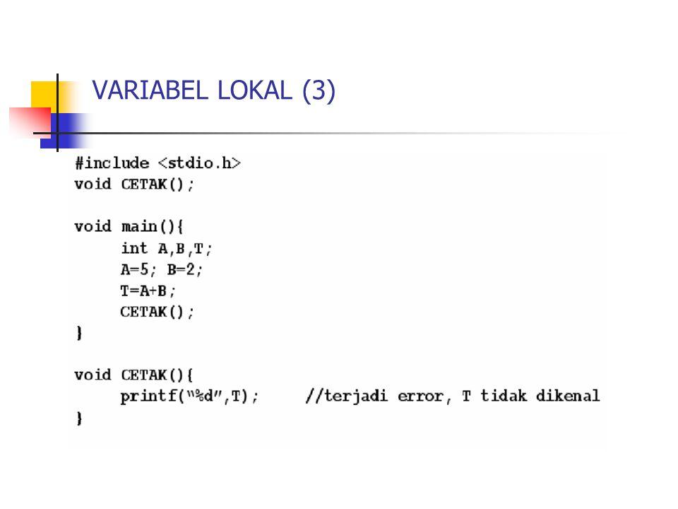 VARIABEL LOKAL (3)