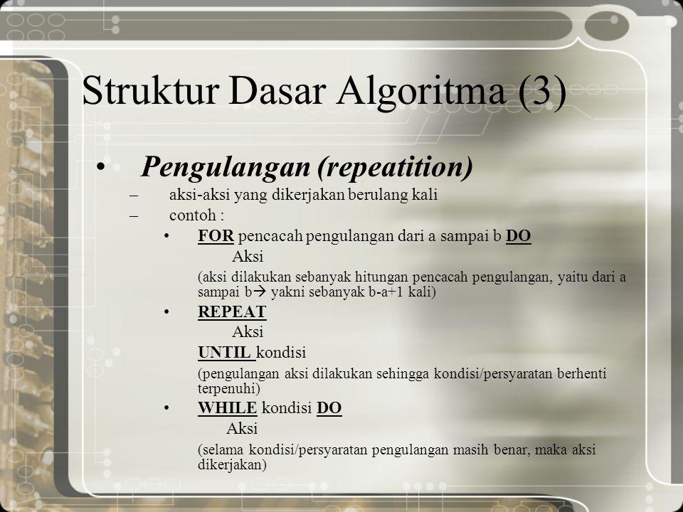 Struktur Dasar Algoritma (3)