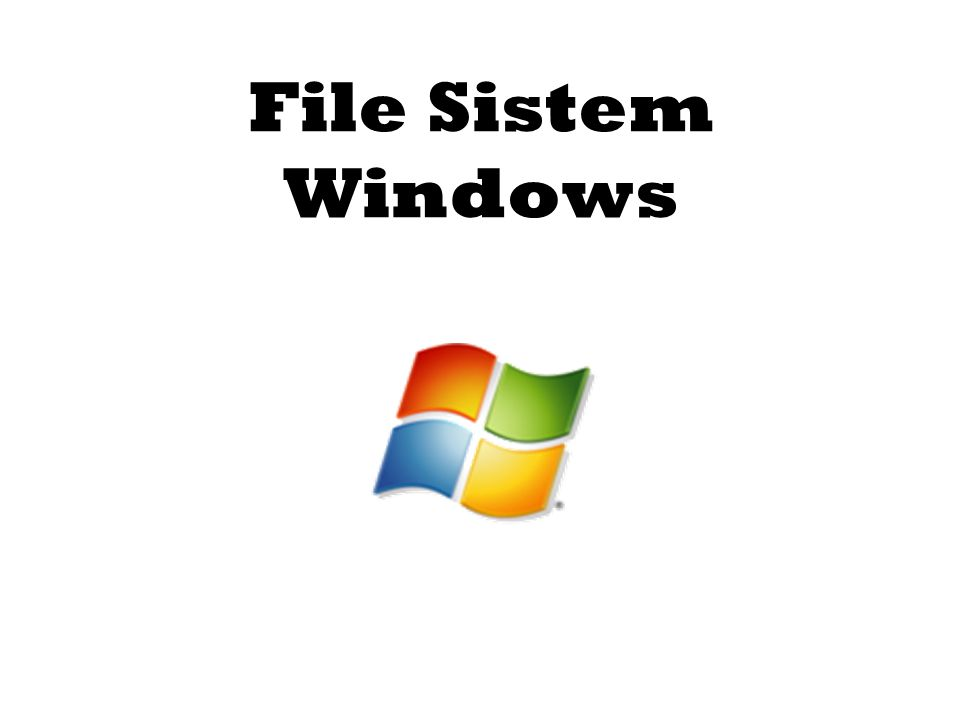 File Sistem Windows