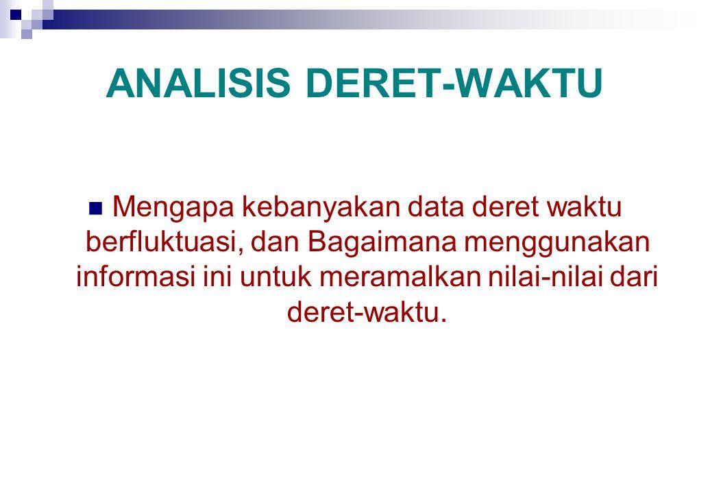 ANALISIS DERET-WAKTU