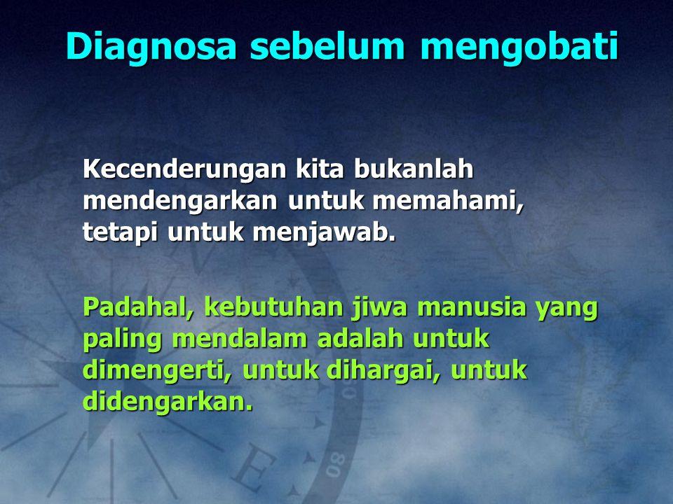 Diagnosa sebelum mengobati
