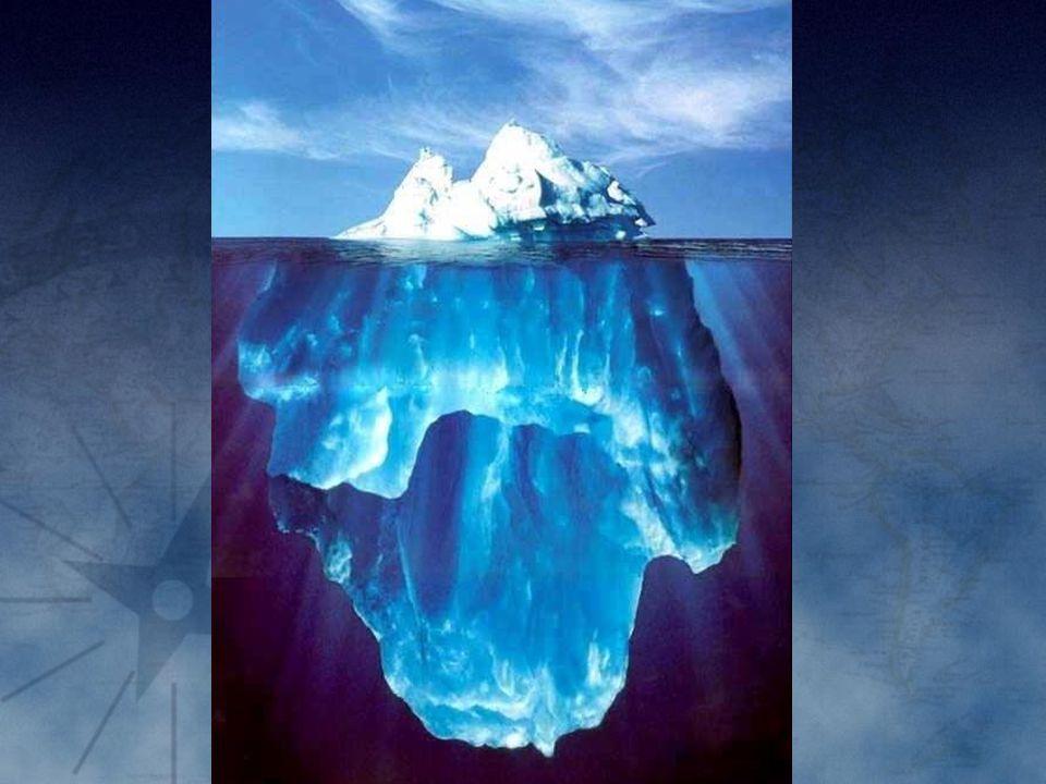 Anda tahu berapa beratnya gunung es tersebut
