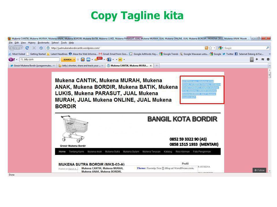 Copy Tagline kita