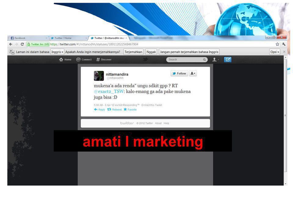 amati l marketing