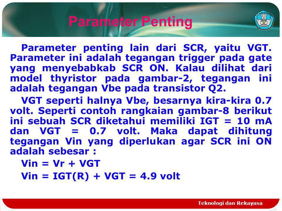 Parameter Penting