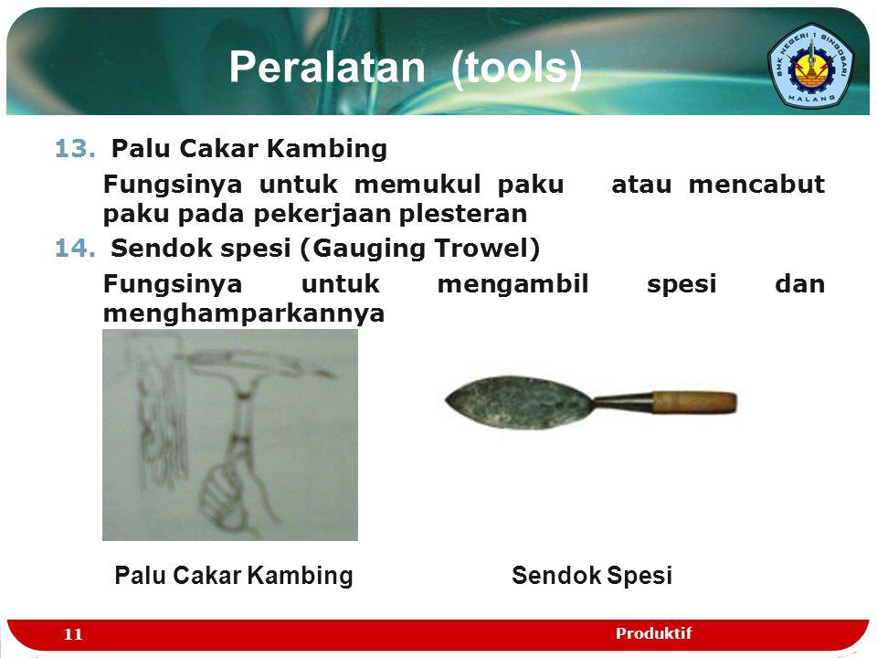 Peralatan (tools) Palu Cakar Kambing