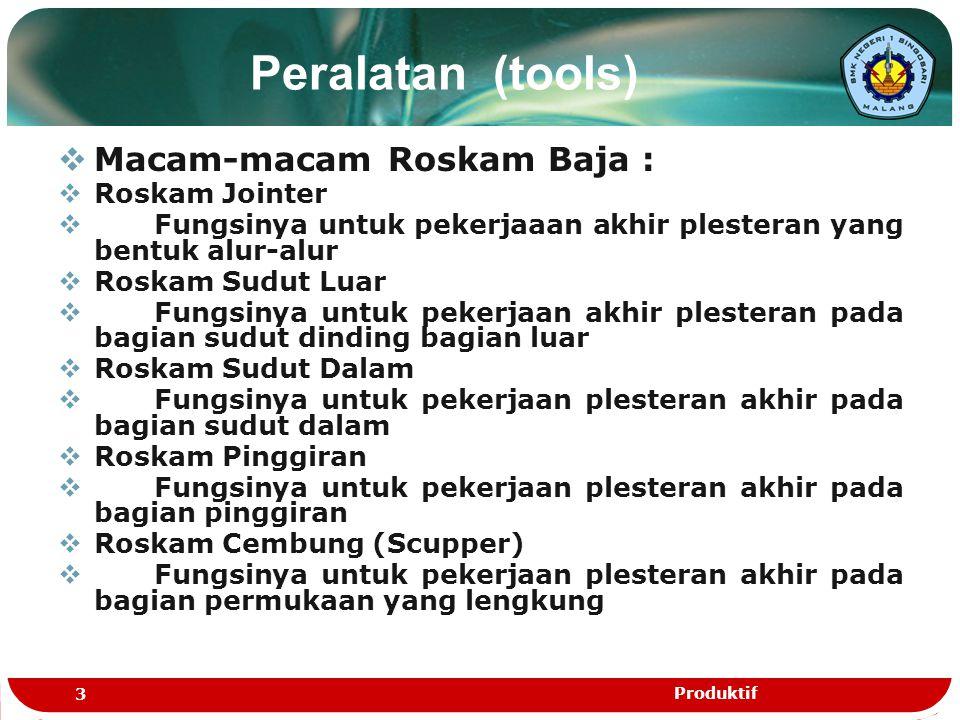 Peralatan (tools) Macam-macam Roskam Baja : Roskam Jointer