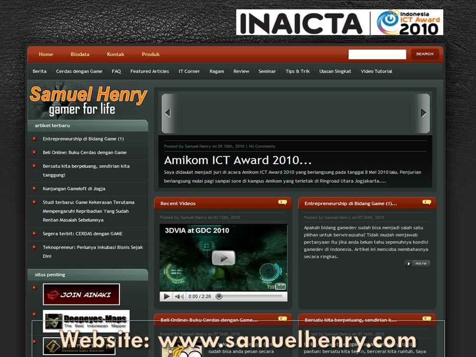 Website: www.samuelhenry.com