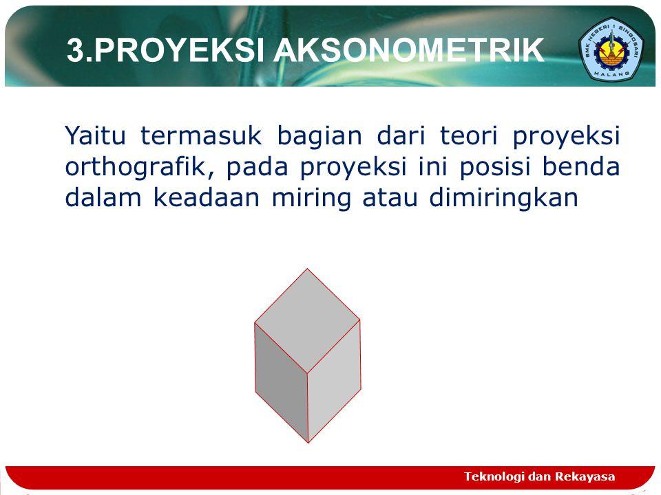 3.PROYEKSI AKSONOMETRIK